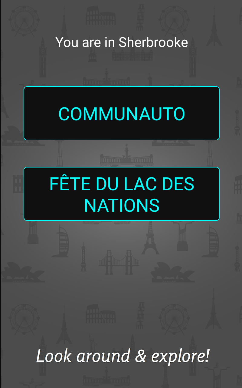 La Fête du lac des Nations in AR